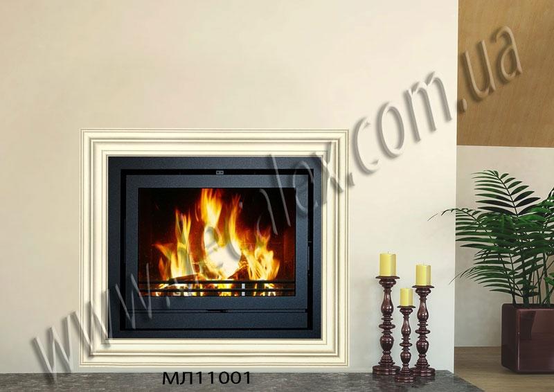 Рис. К04. Для оформления данного портала электрического камина использовались: МЛ11001 (4шт).