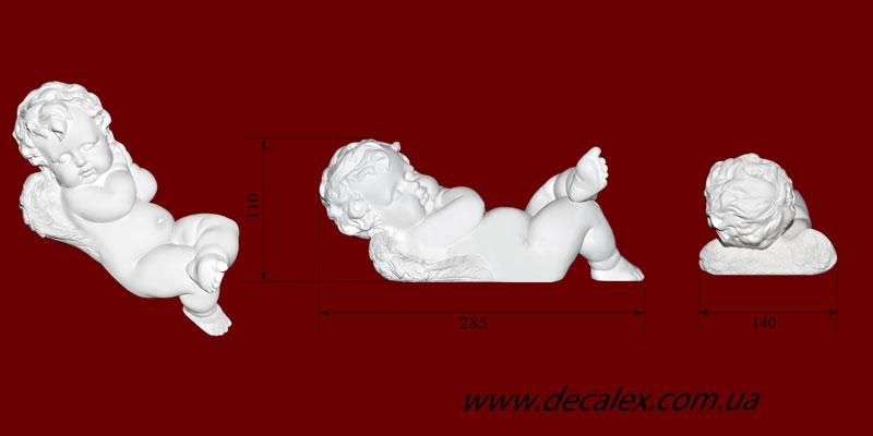 Код товара СК02. Гипсовая скульптура спящего ангела. Розничная цена 385 грн./шт.