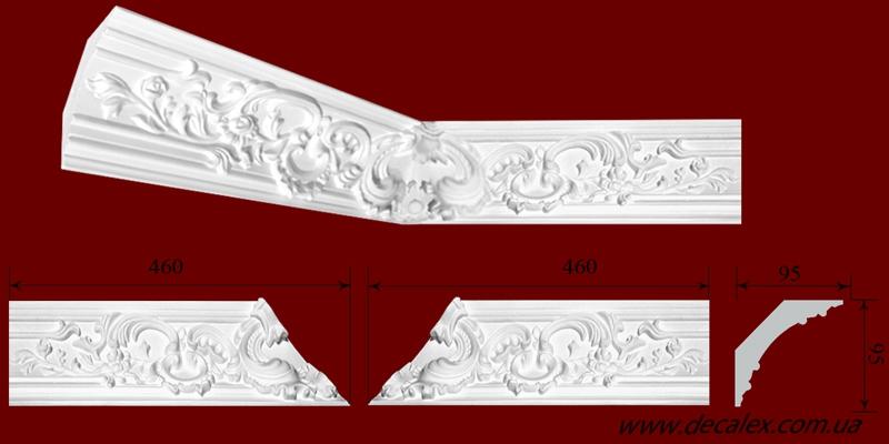 Код товара КР0950952У. Внутренний угол,состоящий из 2-х частей,каждая длиной 460мм. Габариты: 95мм х 95мм х 460мм. Розничная цена 200 грн./шт(2части).Минимальный заказ 4 штуки.