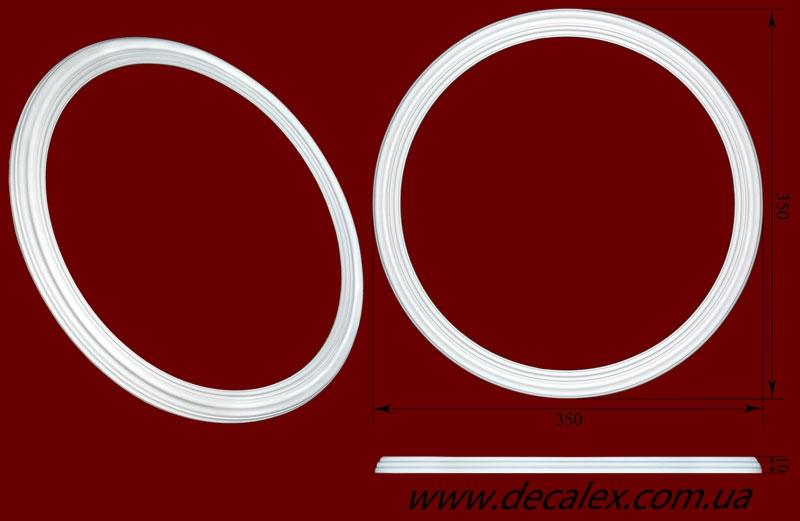 Код товара РЗ 3502. Розетка гипсовая. Розничная цена 140 грн./шт.