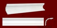 Код товара КЛ1201201. Карниз из гипса длиной 803мм., стыкуеться с КР1201201 и КР1201201У. Габариты: 120мм х 120мм. Розничная цена 160 грн/шт.Минимальный заказ 10 метров.
