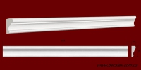 Код товара МЛ03501. Молдинг из гипса шириной 35 мм и длиной 978 мм. Розничная цена 50 грн./шт.