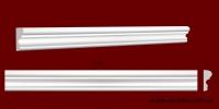 Код товара МЛ05005. Молдинг из гипса шириной 50 мм и длиной 1000 мм. Розничная цена 60 грн./шт.