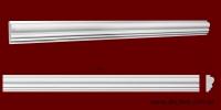 Код товара МЛ03003. Молдинг из гипса шириной 30 мм и длиной 1000 мм. Розничная цена 55 грн./шт.