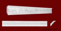 Код товара КР0650621. Карниз из гипса длиной 1000мм. Габариты: 65 мм х 62 мм. Розничная цена 105 грн./шт.