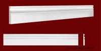 Код товара ПЛ12001. Плинтус из гипса шириной 120 мм и длиной 1000 мм. Розничная цена 160 грн/шт.