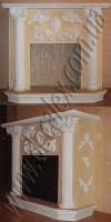(Рис. 2.1.25) Для оформления данного портала электрического камина использовались: ПКК1201 (2шт); ПКТ1201 (2шт); ПКБ1201 (2шт), МР06001 (3шт), МЛ9001 (4шт), ФР00291Л,П (2шт), ФР0054 (1шт), НП01 Л,П (2шт). Боковой вид камина состоит из элементов орнамента: ФР0004 (2шт), ФР0019 (4шт); ФР0034Л,П(4шт); ФР0017 (1шт).