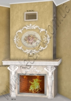 (Рис. 2.1.38) Для оформления данного портала электрического камина использовались: КС14 (2шт); КР1120771 (3шт); ФР0009 (2шт); ФР0013 (1шт); ФР0014 (1шт); ФР0015(2шт);.