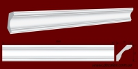 Код товара КЛ0700701. Карниз из гипса длиной 1000мм. Габариты: 70мм х 70мм. Розничная цена 110 грн/шт.