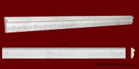 Код товара МР05002. Молдинг из гипса шириной 50 мм. и длиной 1000 мм.. Розничная цена 90 грн./шт.