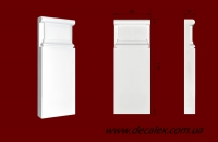 Код товара ПБ0661.  База из гипса для молдингов шириной 66 мм.  Розничная цена 80 грн./шт.