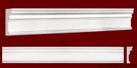 Код товара МЛ08801. Молдинг из гипса шириной 88 мм и длиной 1007 мм. Розничная цена 100 грн./шт.