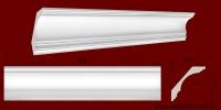 Код товара КЛ1171101. Карниз из гипса длиной 800мм. Габариты: 117мм х 110мм. Розничная цена 150 грн/шт.