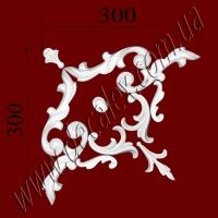 Рис. УН22. Гипсовый наборной угол составлен из элементов орнамента: ФР0014 (1шт), ФР0018 (1шт), ФР0019 (2шт), ФР0032 (1шт), ФР0034 (2шт), ФР0052 (2шт) - 275 грн/1 угол