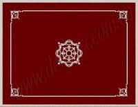Рис. П011. Размер потолка: 3100х4500 мм..По краям потолка использован карниз: КР70702 (13шт). Центральная рамка состоит из молдинга: МЛ2502 (10шт), ГЛ2502-5 (8шт). Наборной угол составлен из элементов орнамента: ФР0004 (1шт), ФР0014 (1шт), ФР0028 (2шт), ФР0047 (1шт), ФР0052 (2шт). Наборная потолочная розетка составлена из элементов орнамента: ФР0013 (4шт), ФР0014 (4шт), ФР0019 (16шт), ФР0028 (8шт), ФР0053 (8шт), потолочная розетка РЗ180 (1шт).