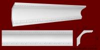 Код товара КР1201301. Карниз из гипса длиной 805мм. Габариты: 120мм х 130мм. Розничная цена 160 грн./шт.Минимальный заказ 10 метров.
