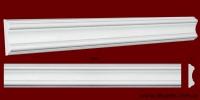 Код товара МЛ08001. Молдинг из гипса шириной 80 мм и длиной 1045 мм. Розничная цена 95 грн./шт.