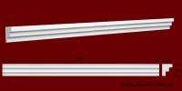 Код товара КЛ0300201. Карниз из гипса длиной 1000мм. Габариты: 30мм х 20мм. Розничная цена 60 грн/шт.