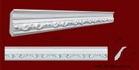 Код товара КР0700652. Карниз из гипса длиной 975мм. Габариты: 70 мм х 65 мм. Розничная цена 120 грн./шт.