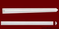Код товара МЛ01501. Молдинг из гипса шириной 15 мм и длиной 508 мм. Розничная цена 20 грн./шт.