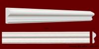 Код товара МЛ06002. Молдинг из гипса шириной 60 мм и длиной 1000 мм. Розничная цена 70 грн./шт.