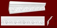 Код товара КР1200801. Карниз из гипса длиной 900мм. Габариты: 120мм х 80мм. Розничная цена 150 грн./шт.Минимальный заказ 10 метров.