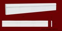 Код товара ПЛ10801. Плинтус из гипса шириной 108 мм и длиной 1005 мм. Розничная цена 110 грн/шт.