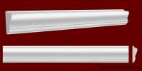 Код товара МЛ07001. Молдинг из гипса шириной 70 мм и длиной 1000 мм. Розничная цена 85 грн./шт.