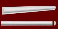 Код товара МЛ03001. Молдинг из гипса шириной 30 мм и длиной 1000 мм. Розничная цена 45 грн./шт.