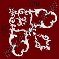 Рис. УН63. Наборной угол составлен из элементов орнамента: ФР0004 (1шт), ФР0011 (4шт), ФР0013 (1шт), ФР0014 (1шт), ФР0031 (1шт), ФР0062 (2шт), ФР0091 (2шт), ФР0092 (1шт), ФР0098 (2шт), ФР0099 (2шт), ФР0103 (2шт); ФР0108 (2шт) - 975 грн./1 угол.