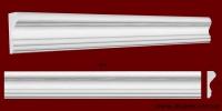 Код товара МЛ08501. Молдинг из гипса шириной 85 мм и длиной 805 мм. Розничная цена 80 грн./шт.
