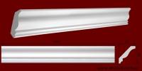Код товара КЛ0800821. Карниз из гипса длиной 1005мм.. Габариты: 80мм х 82мм. Розничная цена 115 грн/шт.