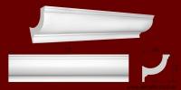 Код товара КЛ1021021. Карниз из гипса длиной 725мм. Габариты: 102мм х 102мм. Розничная цена 160 грн/шт.