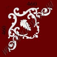 Рис. УН52. Гипсовый наборной угол составлен из элементов орнамента: ФР0010 (1шт), ФР0018 (1шт), ФР0091 (2шт), ФР0098 (2шт), ФР0099 (2шт), ФР0101 (2шт) - 355 грн/1 угол