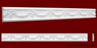 Код товара МР09002. Молдинг из гипса шириной 90 мм и длиной 953 мм. Розничная цена 125 грн./шт.