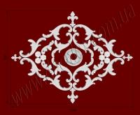 Рис. РН44. Наборная потолочная розетка составлена из элементов орнамента: ФР0011 (12шт), ФР0015 (4шт), ФР0020 (6шт), ФР0046 (2шт), ФР0047 (2шт), РЗ11 (1шт). Розничная цена элементов составляет 1010 грн.