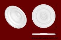 Код товара РЗ 153. Розетка гипсовая, внутренний Ø 15,3см. Розничная цена 50 грн./шт.