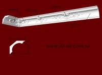 Код товара КР0700751. Карниз из гипса.Состоит из гладкотянуй части Кл0700751 (95 грн/шт 800мм),угла Кр070075У(325мм*325мм-160грн/шт),малой вставки Кр070075мв(240мм-80 грн/шт) и большой вставки Кр070075бв(440мм-120грн/шт) . Габариты: 70мм х 75мм. Минимальный заказ 10 метров.