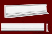 Код товара ДП0002.  Фронтон. Гипсовый элемент для оформления дверных и оконных проёмов, а также может использоваться как плинтус, либо верхняя часть каминов. Стыкуется по краям с гипсовой капителью ПК1352 а также с консолью КС04 (см. фото в соответствующем разделе). Розничная цена 310 грн./шт.
