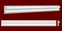 Код товара МЛ04003. Молдинг из гипса шириной 42 мм и длиной 1000 мм.. Розничная цена 50 грн./шт.