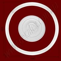 Рис. РН60. Наборная потолочная розетка составлена из элементов орнамента: ДГ0003 (4шт), РЗ 5301 (1шт). Розничная цена элементов составляет 910 грн.