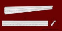 Код товара КР0500481. Карниз из гипса длиной 980мм. Габариты: 50 мм х 48 мм. Розничная цена 100 грн/шт.