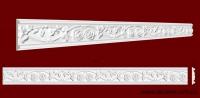 Код товара МP08004. Молдинг из гипса шириной 80 мм и длиной 957 мм. Розничная цена 120 грн./шт.