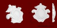 Код товара ФР0023. Орнамент из гипса. Розничная цена 50 грн./шт.
