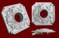 Код товара СВ03.  Светильник гипсовый под галогенную лампу MR16 12/220V.  Розничная цена 85 грн.