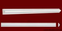 Код товара МЛ02502.Молдинг из гипса шириной 25 мм и длиной 1012 мм. Розничная цена 40 грн./шт.