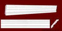 Код товара КЛ0800721. Карниз из гипса длиной 1000мм. Габариты: 80мм х 72мм. Розничная цена 115 грн/шт.