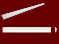Код товара ПТ0441.  Тело пилястры из гипса шириной 44 мм и длиной 1003 мм. Розничная цена 60 грн./шт.