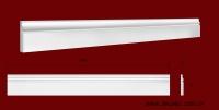 Код товара ПЛ09701. Плинтус из гипса шириной 97 мм и длиной 1000 мм. Розничная цена 125 грн/шт.