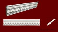 Код товара КР1051001. Карниз из гипса длиной 590мм. Габариты: 105 мм х 100 мм. Розничная цена 100 грн./шт.Минимальный заказ 10 метров.